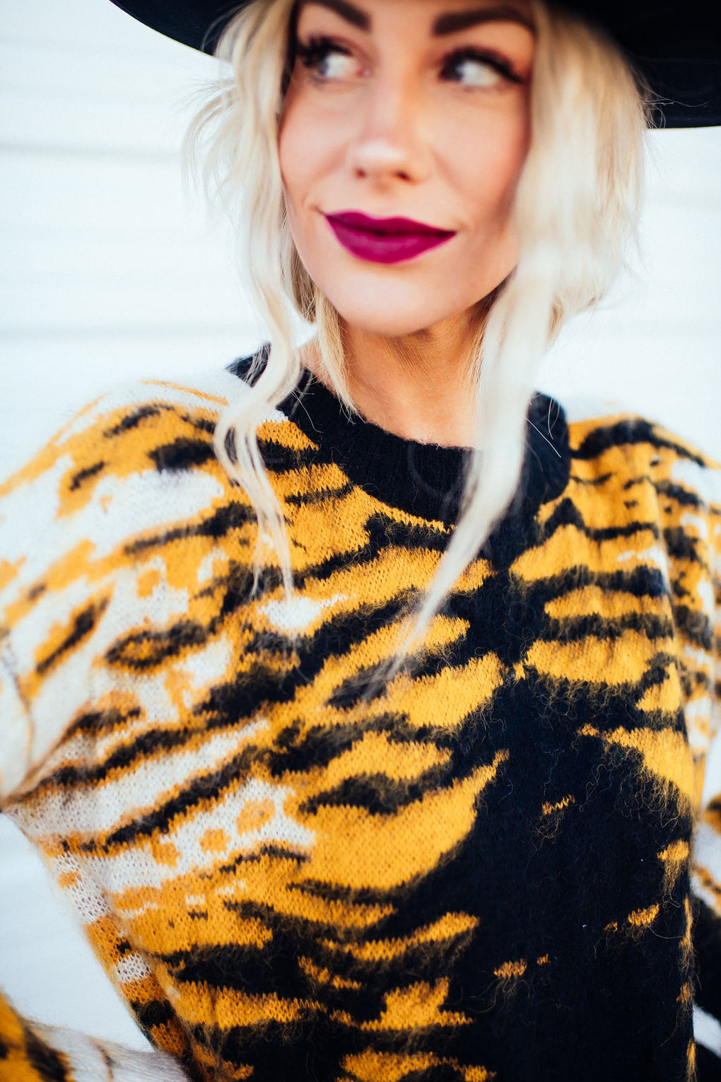Easy Tiger Cropped Knit