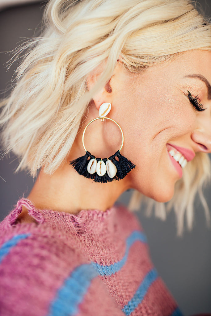 Pacific Coast Fringe Earrings