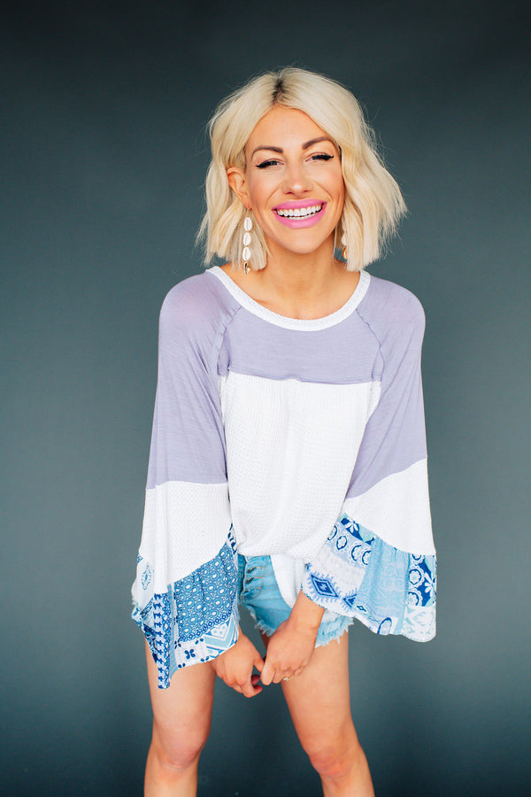 Seaside Boho Top