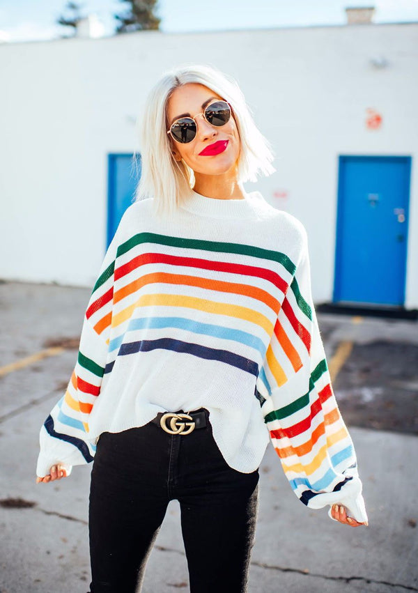 Zuri Rainbow Knit