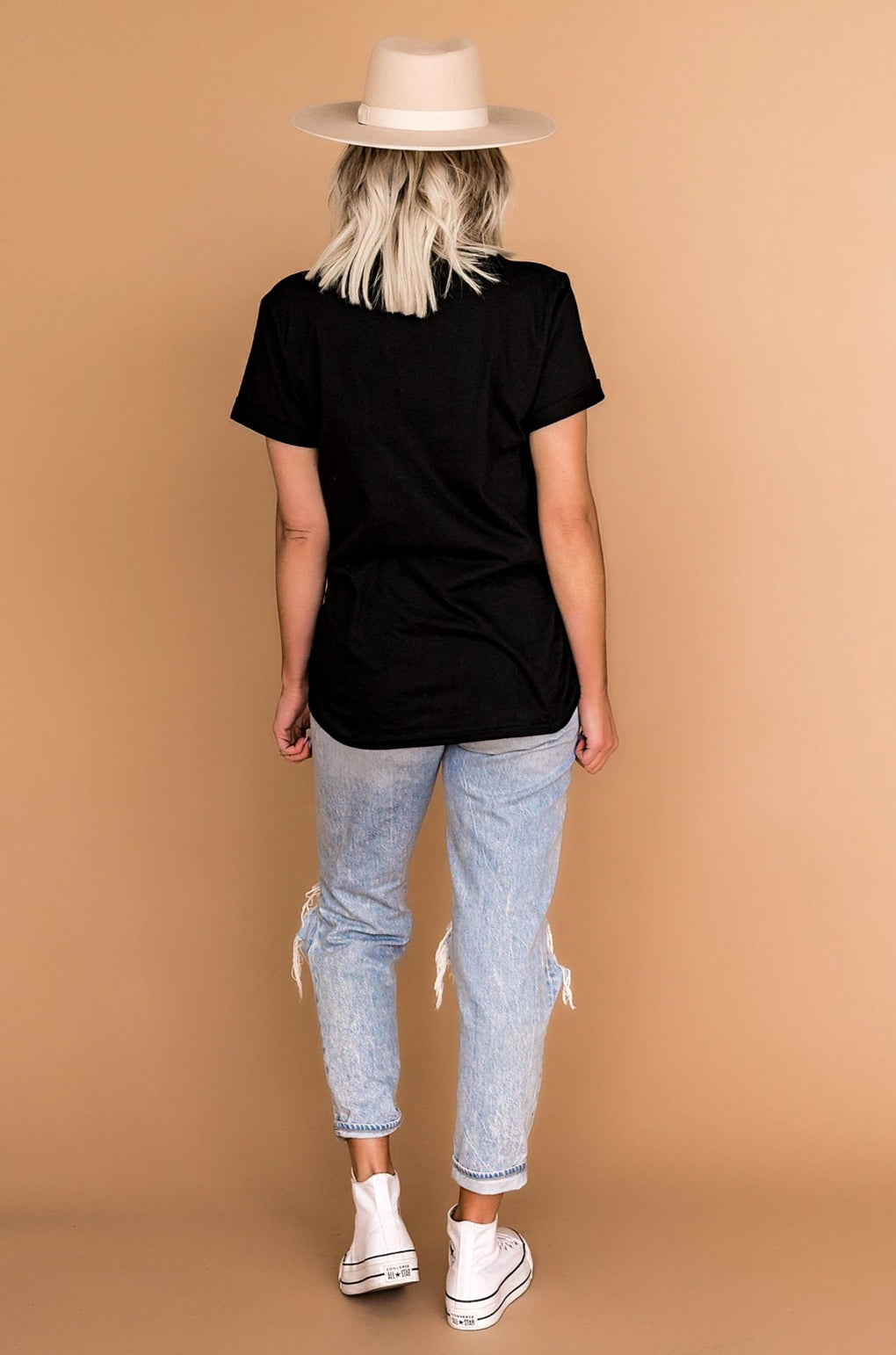 LALA ORIGINAL DESIGN: Made For This Embroidered Tee