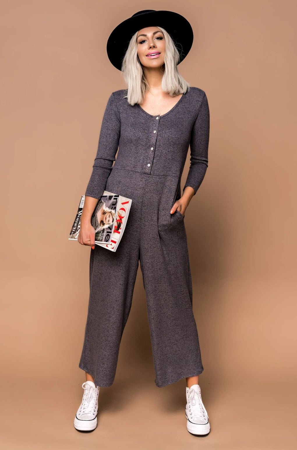 Just Chill Wide Leg Jumpsuit
