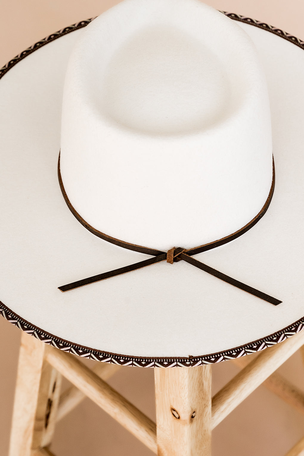 Billie Rancher Hat in Ivory
