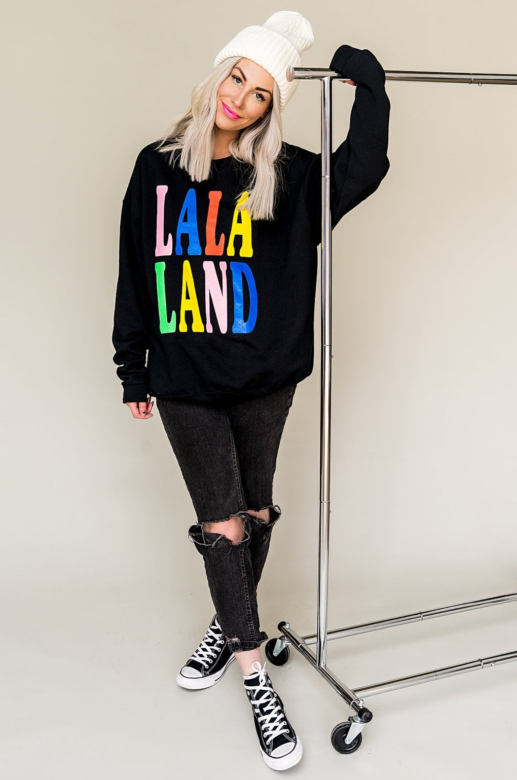 LALA ORIGINAL DESIGN: LALA Land Oversized Pullover