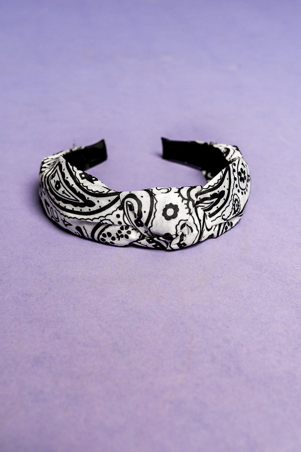 Wild Child Headband in White