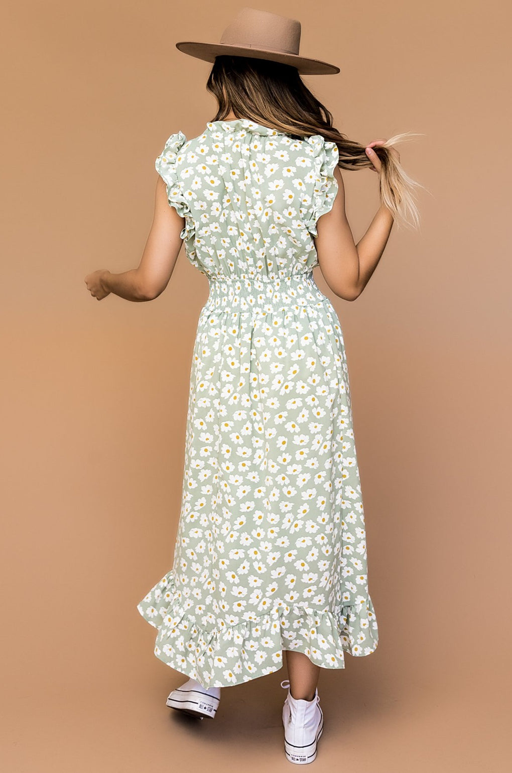 Dreaming In Daisies Midi Dress