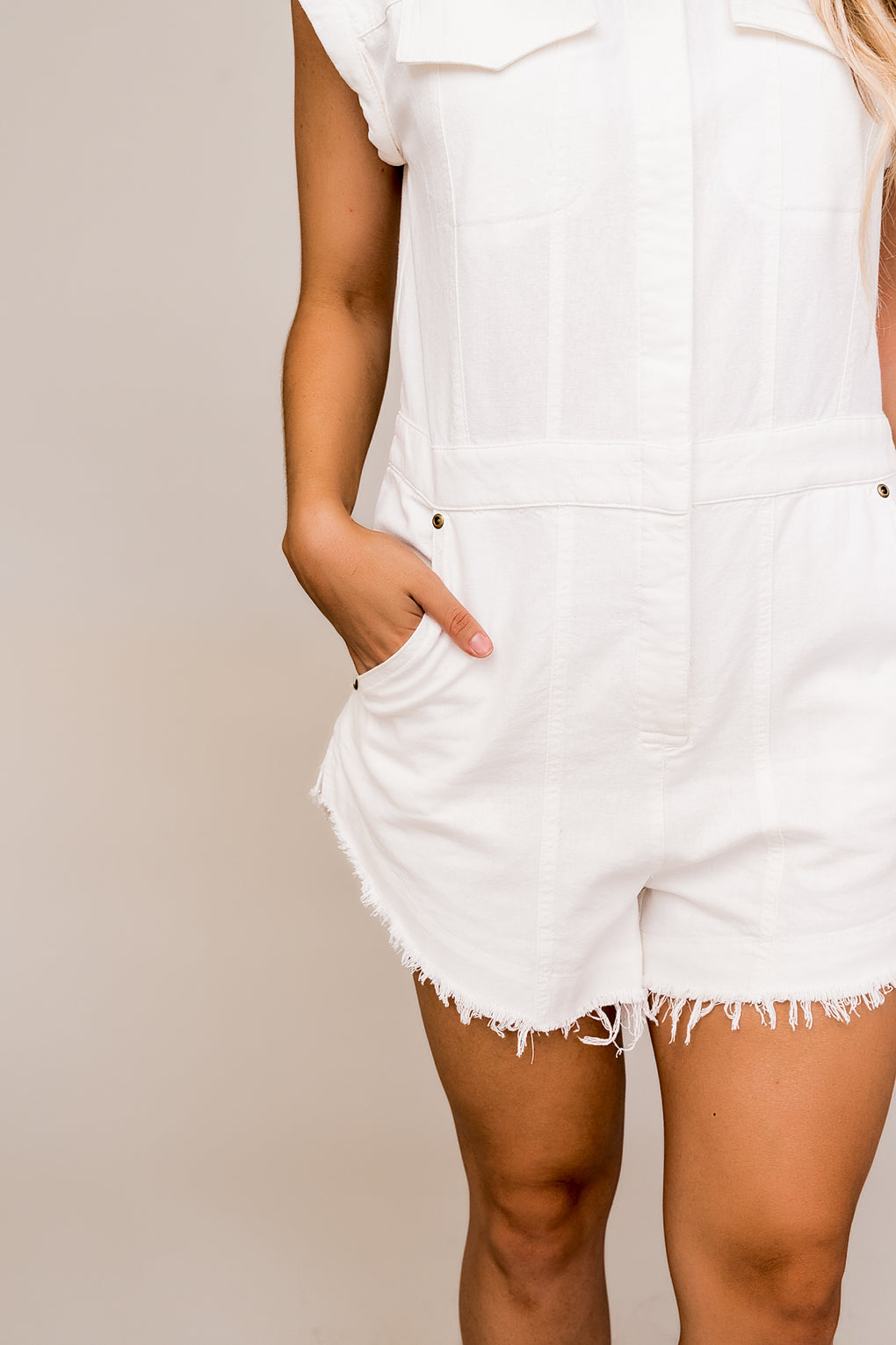 Warm Breeze Boyfriend Romper