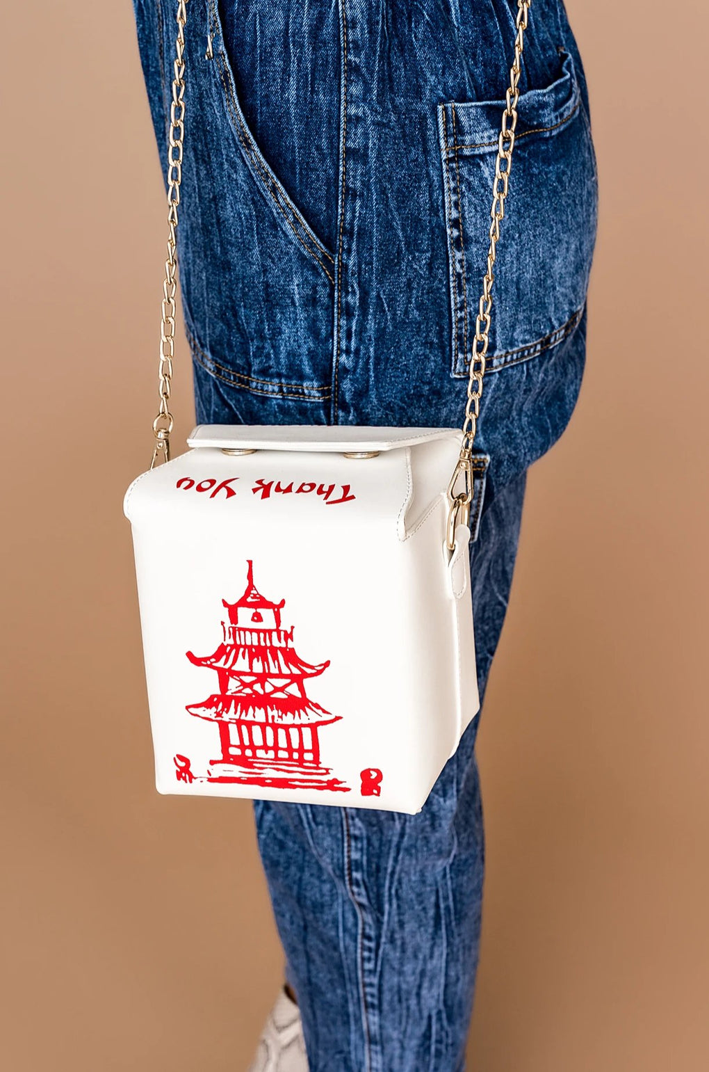 Chinese Takeout Chain Bag