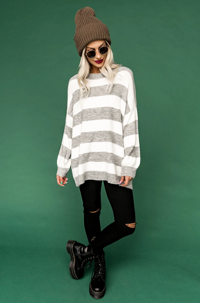 Willow Striped Knit