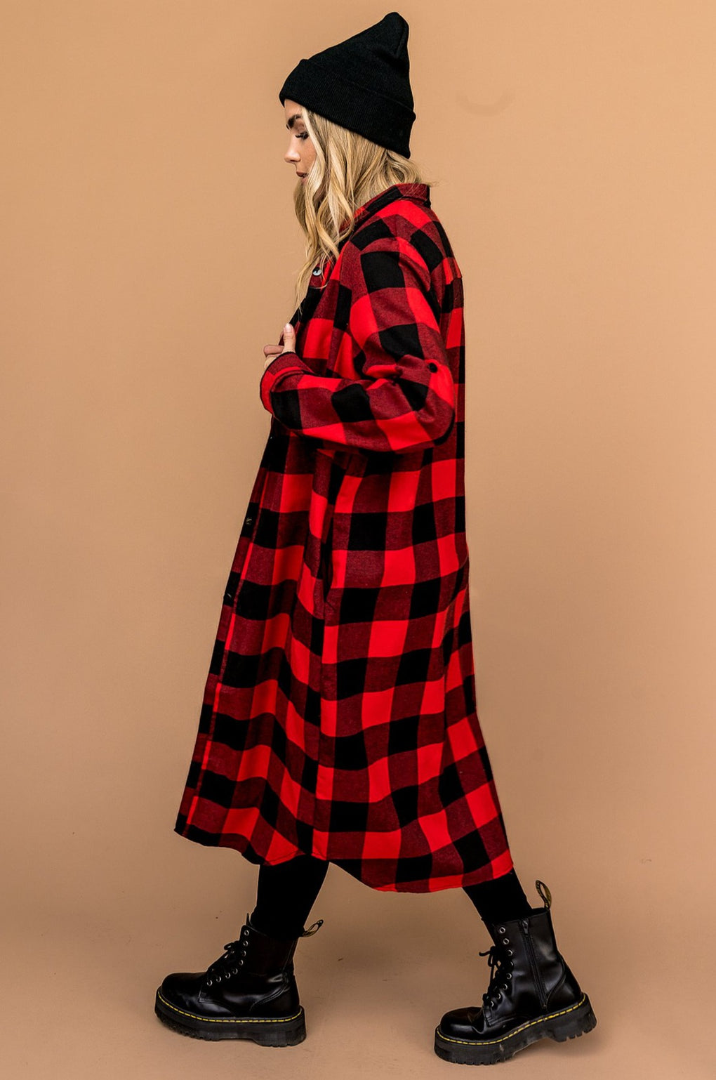 Can't Lose You Longline Buffalo Flannel