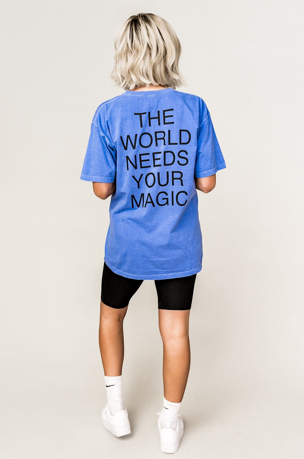 LALA ORIGINAL DESIGN: The World Needs Your Magic Tee