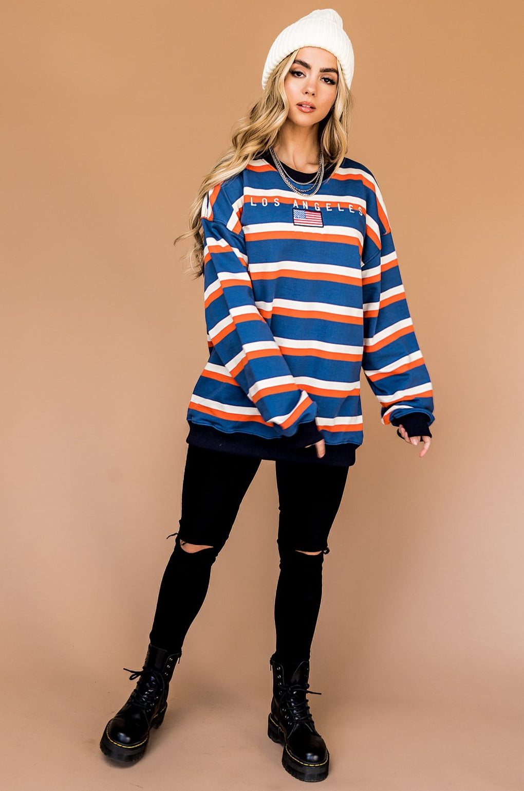 L.A. Babe Oversized Pullover