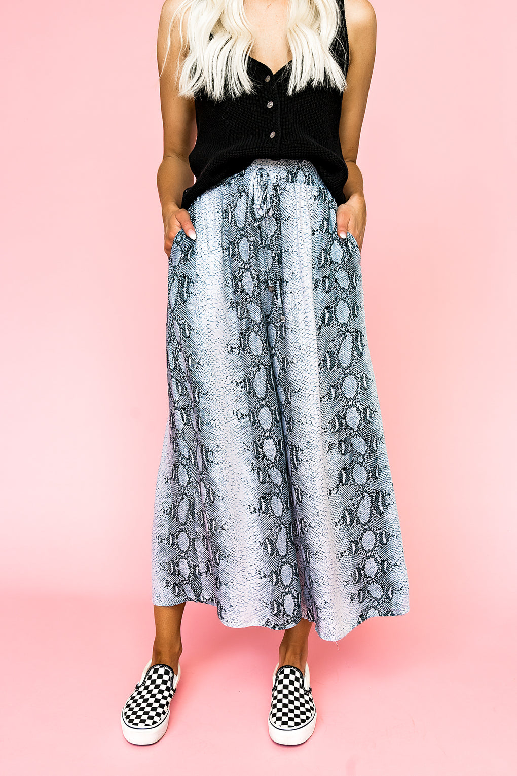 Manhattan Wide Leg Pants