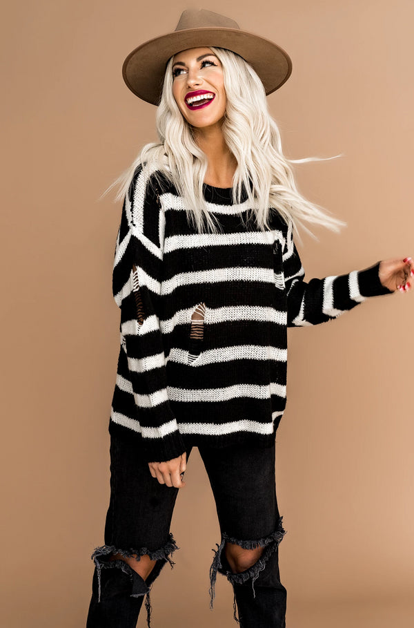 Santa Barbara Striped Sweater