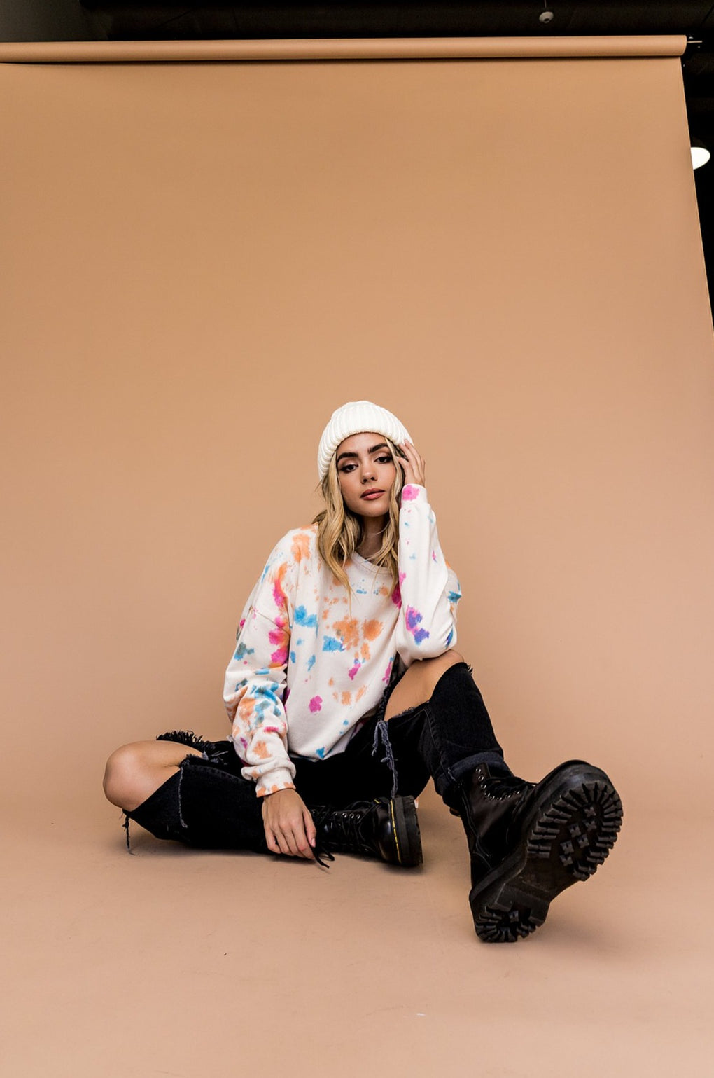 Dreaming In Color Tie Dye Pullover