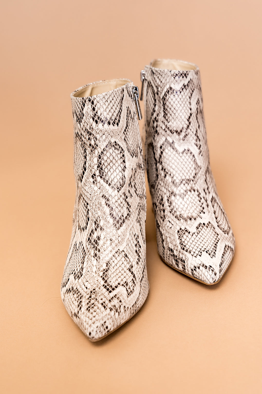 Indie Snake Ankle Boots