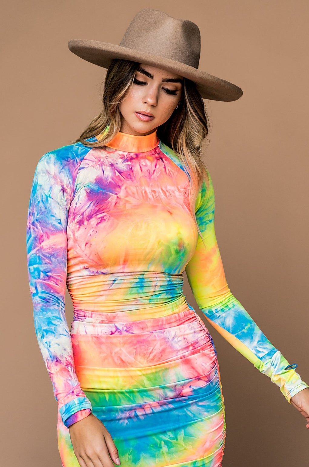 Spellbound Tie Dye Bodycon Dress