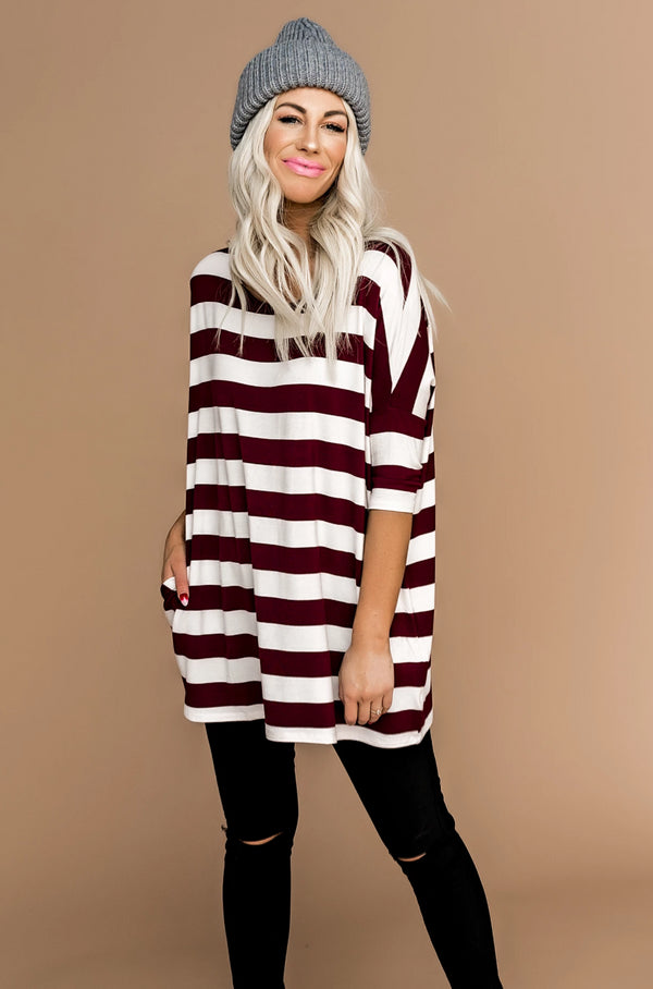 Gimme Gimme Striped Top