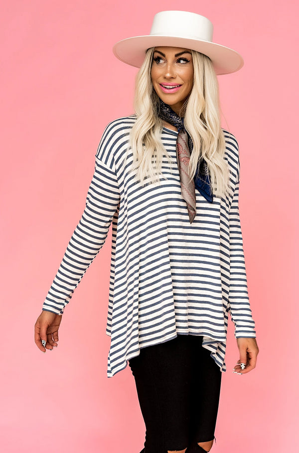 Ocean Eyes Striped Top
