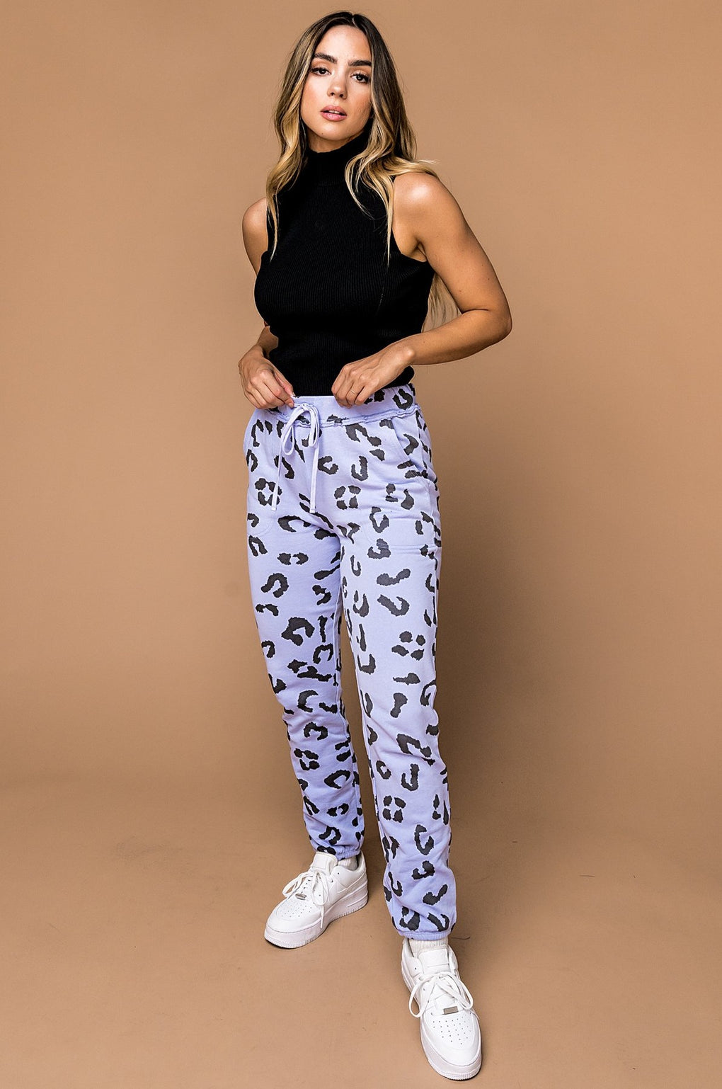 Chilled Out Leopard Joggers