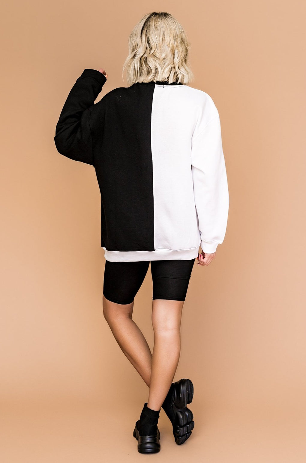 LA All Day Colorblock Pullover