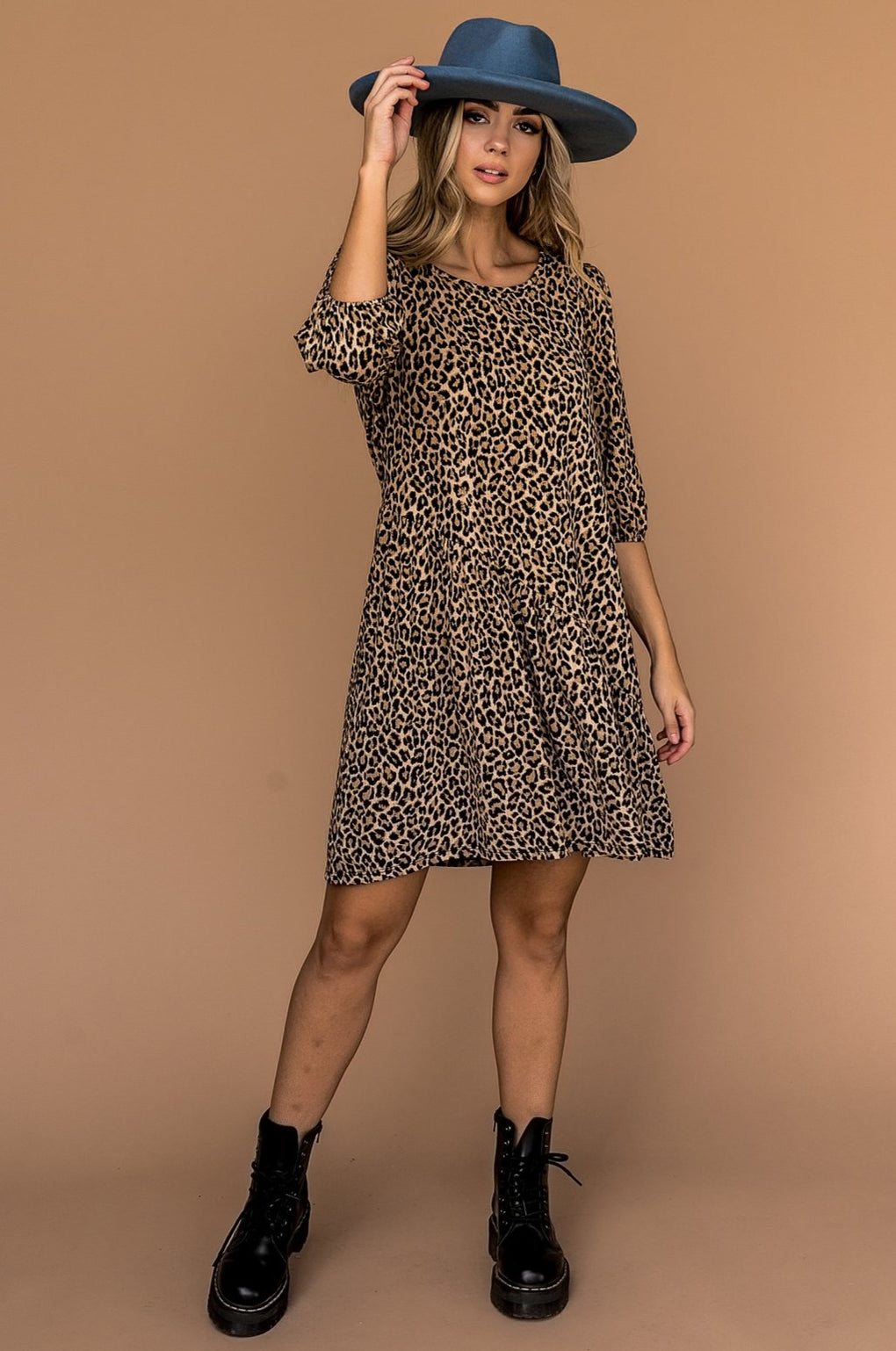 More Love Leopard Mini Dress