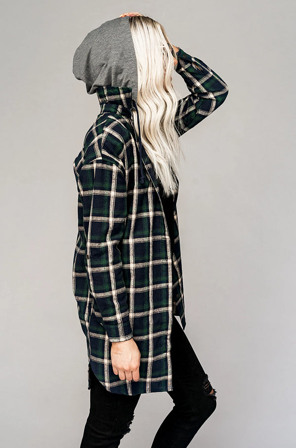 Sundance Hooded Flannel