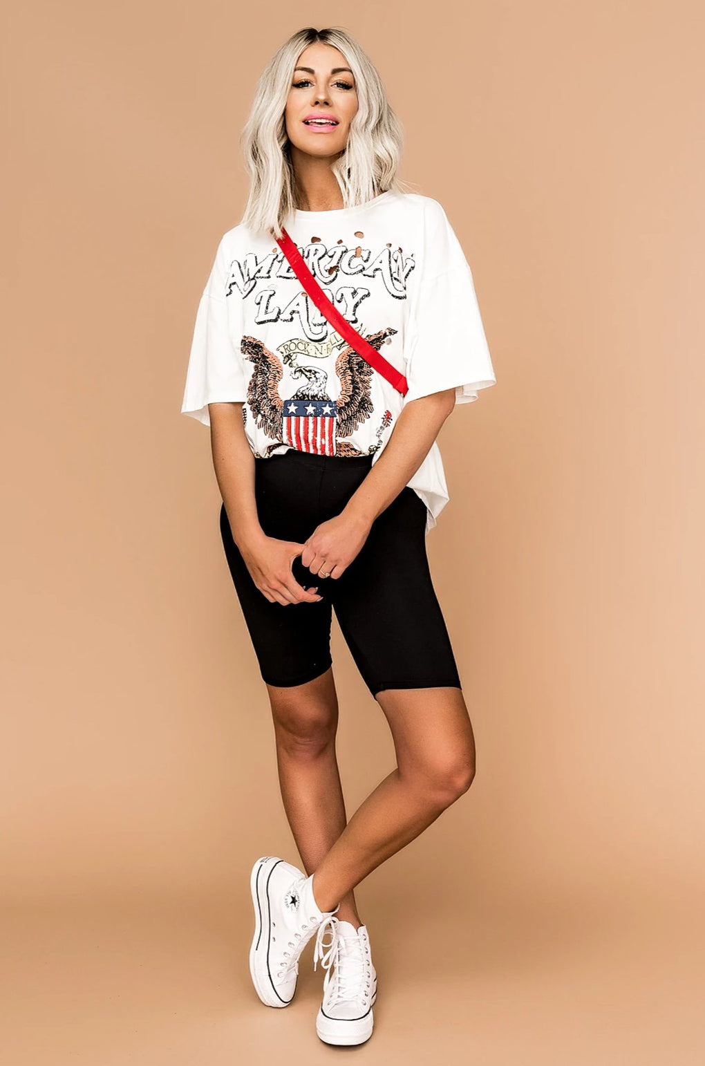 Scout Everyday Black Biker Shorts