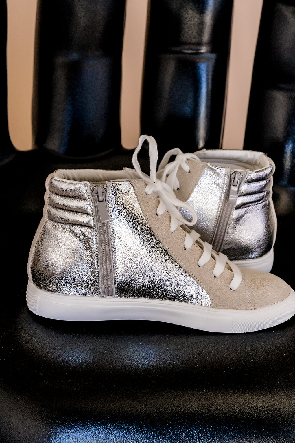 Starshine Hi-Top Sneakers