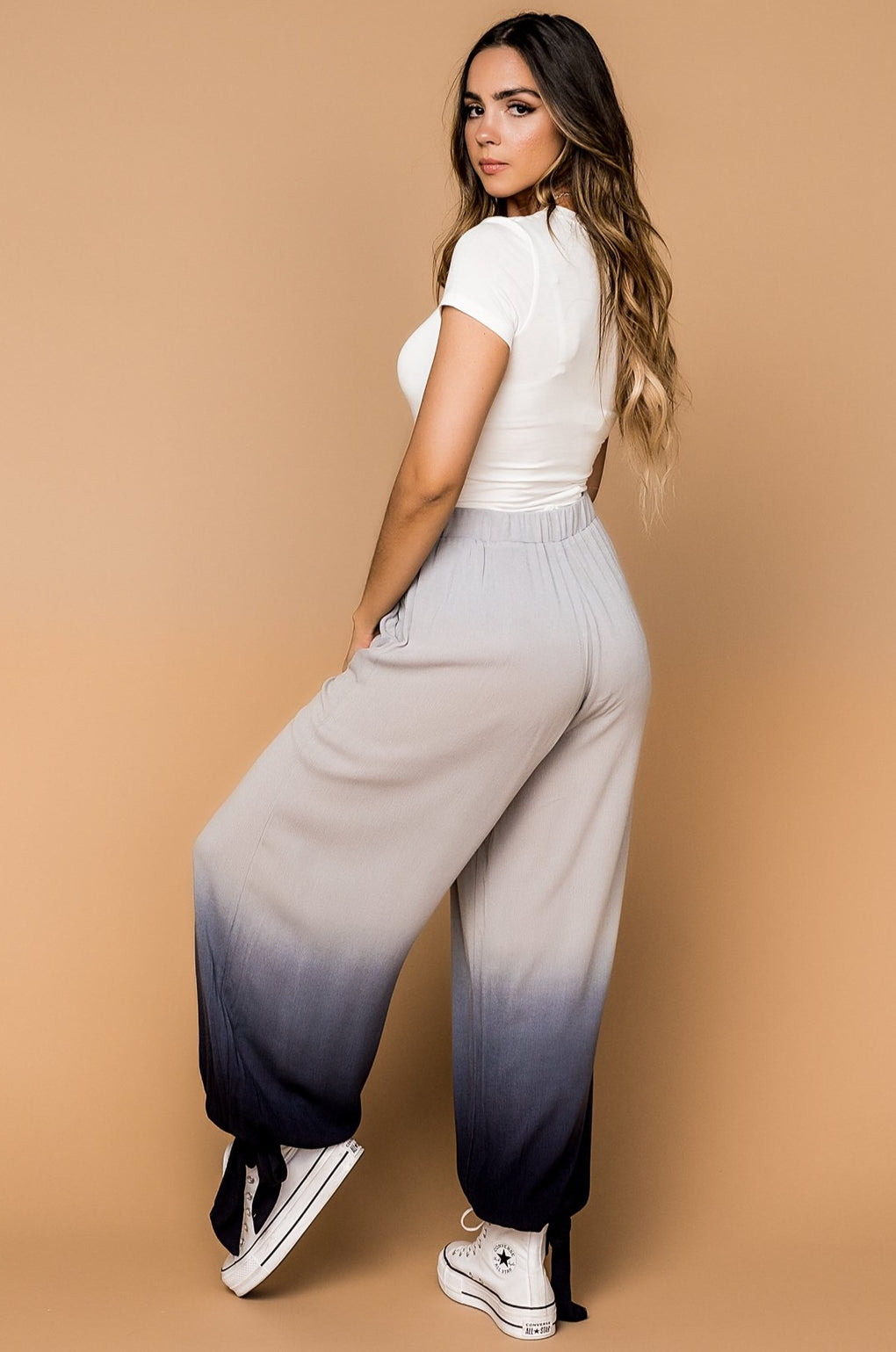 Malibu Waves Ombré Pants