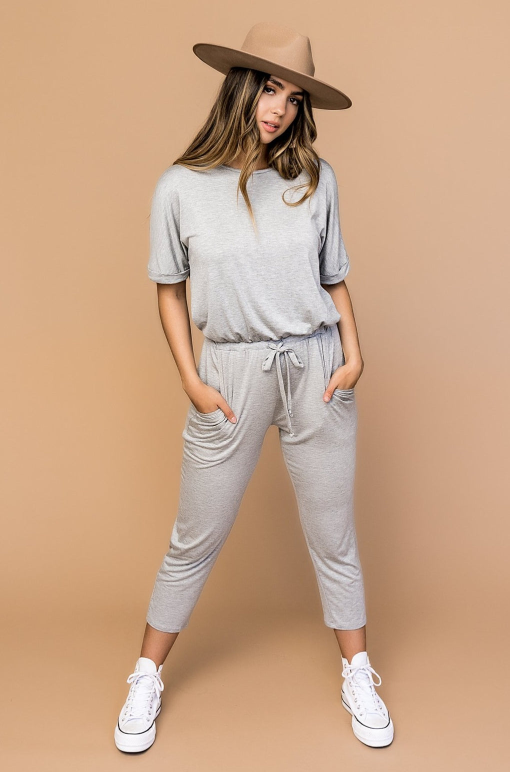 Just Breathe Lounge Jumpsuit
