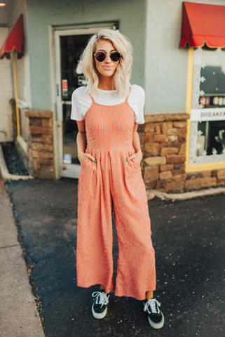 Citrus Wide Leg Jumpsuit