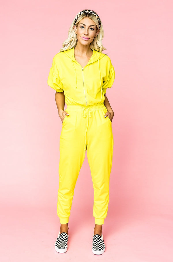 Neon Flight Jumpsuit