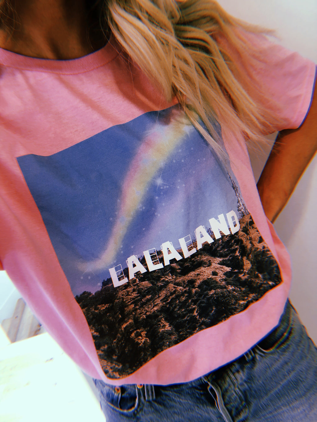 LALA ORIGINAL DESIGN: Living in LALA Land Tee
