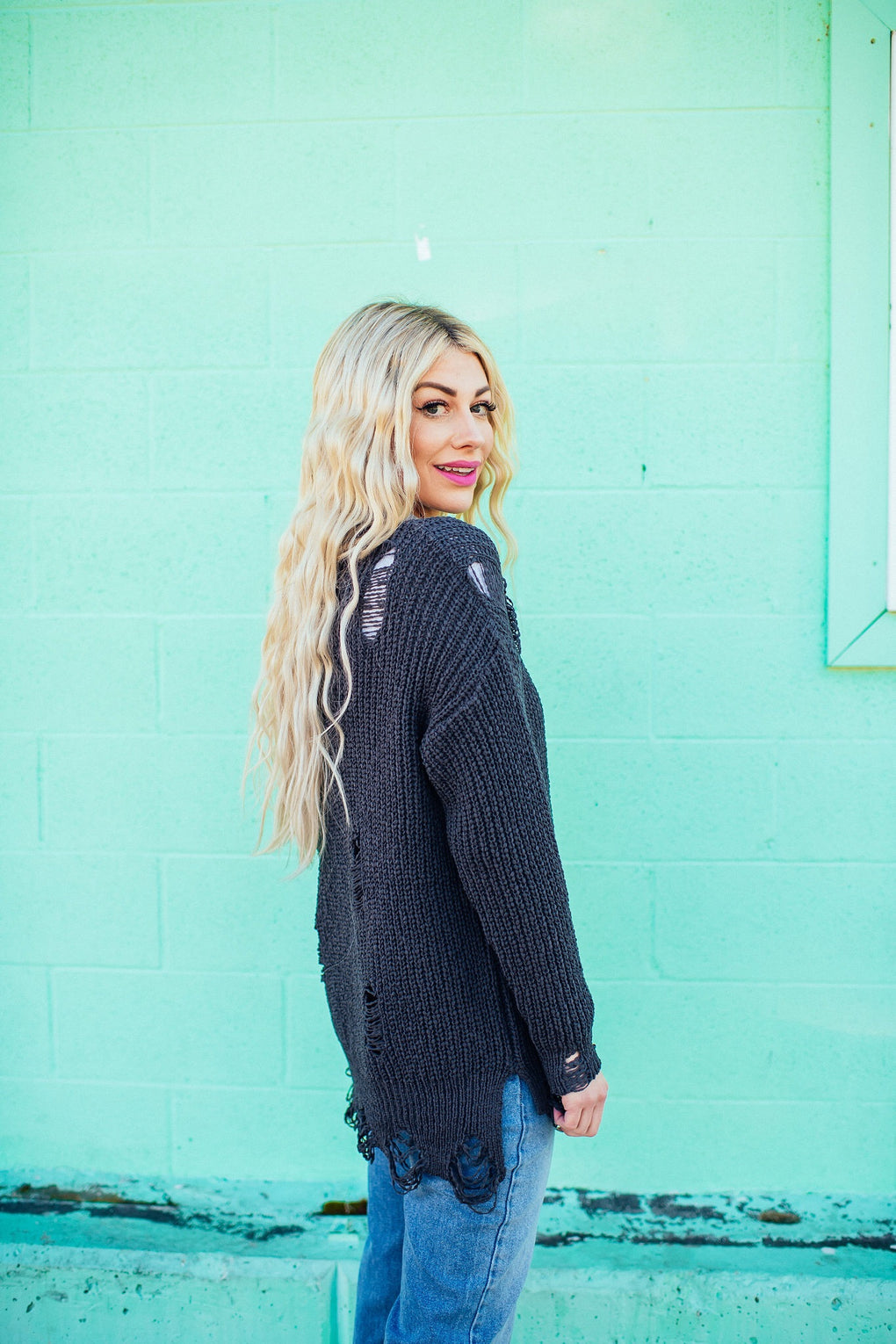 Blair Distressed Knit