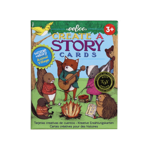 Create a Story Cards: Animal Village