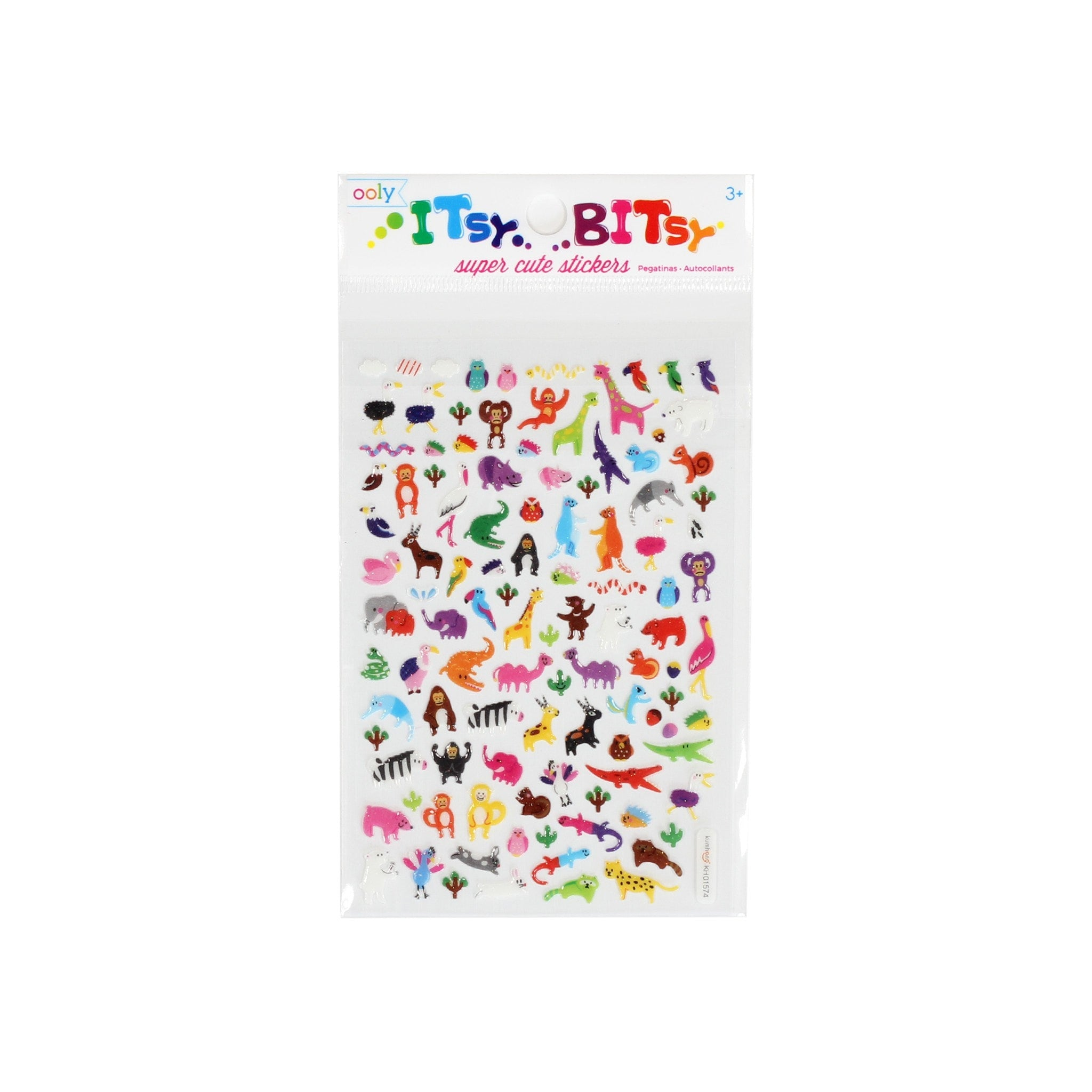 Itsy Bitsy Jungle Pals Stickers