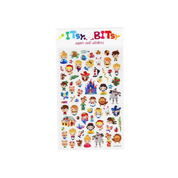 Fairy Tale Itsy Bitsy Stickers