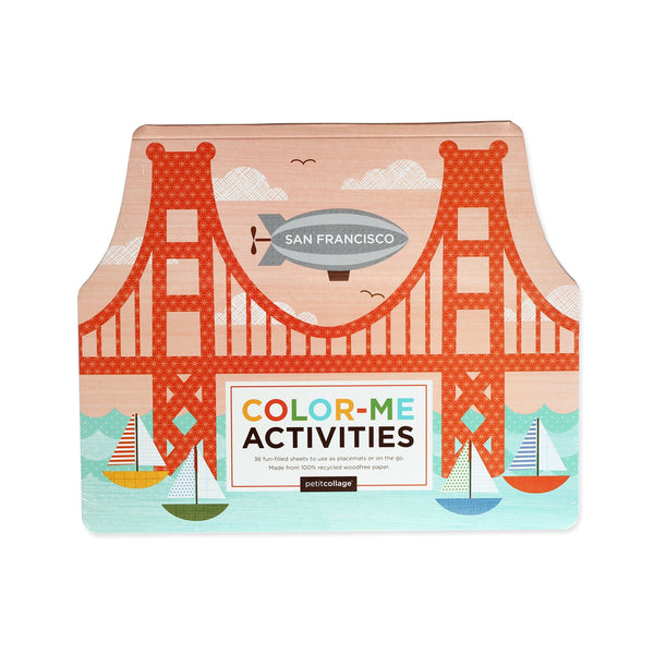 San Francisco Color Me Activities