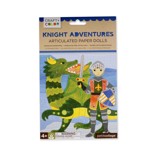 Knight Adventures Paper Dolls