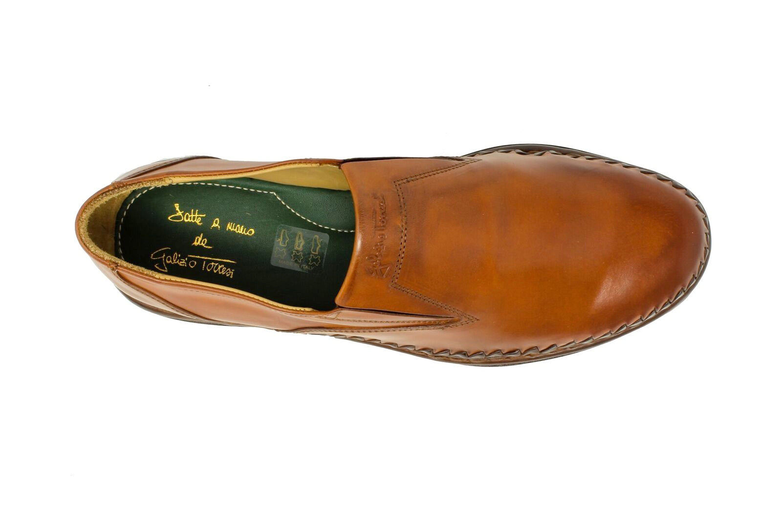Galizio Torresi Tan Slip-On