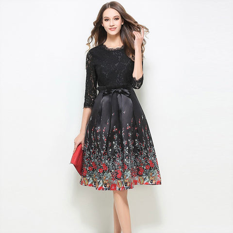 Calandra Lace Dress - Dress - Stage & Splendor