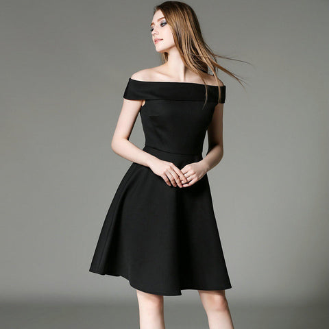 Fairuza Shoulderless Dress - One Piece Dress - Stage & Splendor