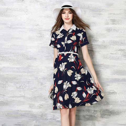 Abby Floral Print Dress - One Piece Dress - Stage & Splendor