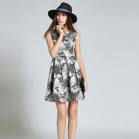 Aaiyah Floral Print Dress - One Piece Dress - Stage & Splendor