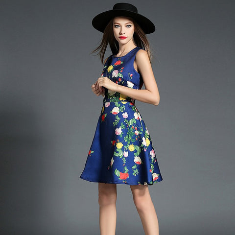 Babette Floral Print Dress - One Piece Dress - Stage & Splendor