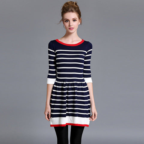 Edda Striped Dress