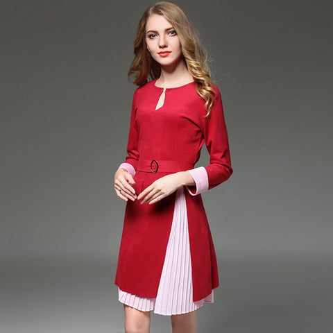 Caitlin Long Sleeves Dress - Dress - Stage & Splendor