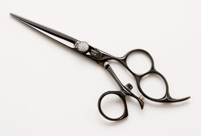Debut Triple Hole Black Swivel Shear