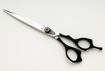 Dynasty Satin B Black No Slip Handle Scissor